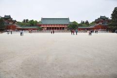 Het heiligdom van Kyoto Heian Royalty-vrije Stock Afbeeldingen