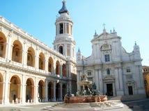 Het heiligdom van Loreto - Italië Royalty-vrije Stock Afbeelding