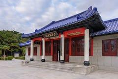 Het heiligdom van martelaren in Kinmen, Taiwan Royalty-vrije Stock Foto's