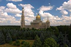 Het heiligdom van Onze Dame van Korstmos - buiten. Stock Afbeelding