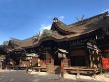 Het Heiligdom van Osaka, Japan - van Sumiyoshi Taisha stock afbeelding