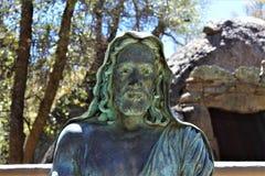 Het Heiligdom van Saint Joseph van de Bergen, Yarnell, Arizona, Verenigde Staten Stock Foto's