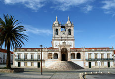 Het heiligdom van Senhora DA Nazare van Nossa Royalty-vrije Stock Afbeelding