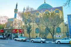 Het Heiligdom van Shahzadefazelholy in Yazd Royalty-vrije Stock Afbeelding
