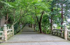 Het Heiligdom van Shirayamahime, Ishikawa, Japan royalty-vrije stock afbeeldingen