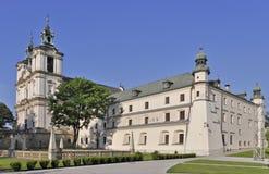Het Heiligdom van Skalka in Krakau, Polen stock foto