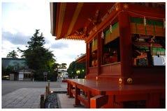 Het heiligdom van Tsurugaokahachiman -hachiman-gu stock fotografie