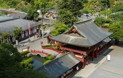 Het Heiligdom van Yutokuinari royalty-vrije stock foto