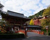 Het Heiligdom van Yutokuinari in Kashima-stad, Japan Royalty-vrije Stock Foto