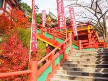 Het heiligdom van Yutokuinari in Saga, Japan royalty-vrije stock afbeelding