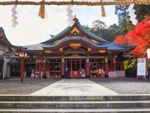Het heiligdom van Yutokuinari in Saga, Japan stock foto
