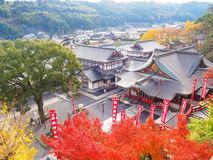 Het heiligdom van Yutokuinari in Saga, Japan royalty-vrije stock foto's