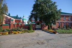 Het heilige Klooster van de Drievuldigheid in Ryazan Stock Afbeelding
