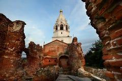Het Heilige klooster van Drievuldigheidsostrovoezersky Royalty-vrije Stock Afbeelding