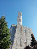 Het heilige Maagdelijke monument van Mary in Haskovo, Bulgarije Stock Fotografie