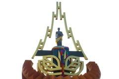 Het heilige standbeeld Stock Foto's