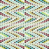 Het heldere effect van het graffiti geometrische naadloze patroon grunge vector illustratie