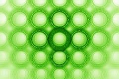 Het heldere gewaagde ontwerp van de bellencirkel Stock Foto