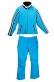 Het heldere kostuum van skiSporten Stock Afbeeldingen