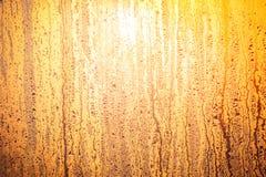 Het heldere zon shinning door het glasvenster Royalty-vrije Stock Afbeeldingen