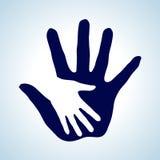 Het helpen van hand. Royalty-vrije Stock Foto's