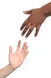 Het helpen van handen Stock Foto