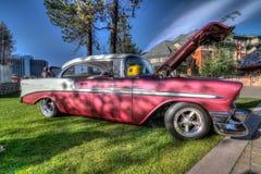Het Hemelse Car Show van meertahoe stock fotografie