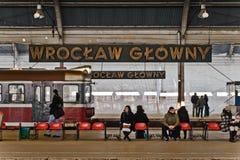 Het herbouwen van de spoorwegpost Royalty-vrije Stock Afbeeldingen