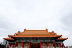Het Herdenkings, Nationale Theater en Nationaal Overleg Hall Taipei, Taiwan van Chiang Kai-shek Stock Foto