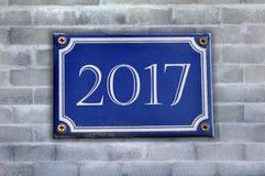 Het herdenkings nieuwe jaar van 2017 Royalty-vrije Stock Afbeeldingen