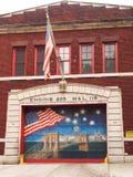 Het Herdenkings Schilderen van de brandweerkazerne FDNY Royalty-vrije Stock Foto