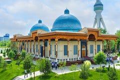 Het herdenkingsmuseum in Tashkent stock afbeelding