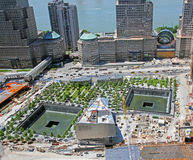 het HerdenkingsPark van 9 /11 Royalty-vrije Stock Fotografie