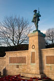 Het herdenkingsstandbeeld van de oorlog Stock Fotografie