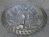 Het HerdenkingsWashington DC van de Wereldoorlog II Stock Foto