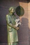 Het HerdenkingsWashington DC van het Beeldhouwwerk van Roosevelt van Eleanor Royalty-vrije Stock Foto