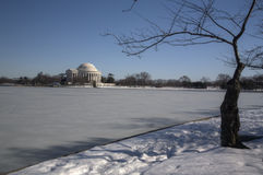 Het HerdenkingsWashington DC van Jefferson Stock Fotografie