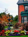 Het herenhuis Deveraux/de Erfenis tuinieren, Salt Lake City Stock Fotografie