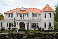 Het Herenhuis van de luxe stock afbeelding