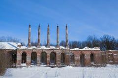 Het Herenhuis van Zavadovsky in Lyalichi, Rusland Stock Afbeeldingen