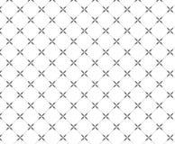Het herhalen van geometrische tegels met vierkante en bloemenelementen Stock Fotografie
