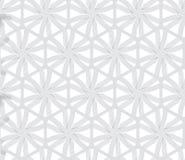 Het herhalen van ornament grijze hexagon netto met lijnen Stock Foto's