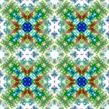 Het herhalen van patroon van naadloze abstracties Royalty-vrije Stock Afbeeldingen