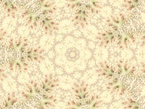 Het herhalen van patroonachtergrond in schaduwen van groen en tan Stock Afbeeldingen