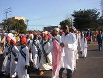 Het herinneren van de Heilige Helderziende in Afrika Stock Foto