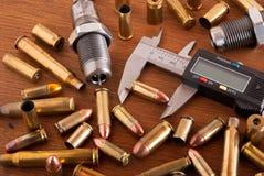 Het herladen van munitie Royalty-vrije Stock Fotografie