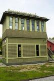 Het herstelde Seinhuisje van C & van O 1900 in Clifton Forge, Stock Afbeelding