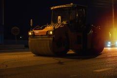 Het herstellen van de weg stock afbeelding