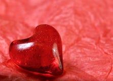 Het hert van de valentijnskaart Stock Foto