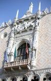 het hertogelijke Paleis in Venetië Italië riep ook Palazzo Ducale in Itali royalty-vrije stock foto
